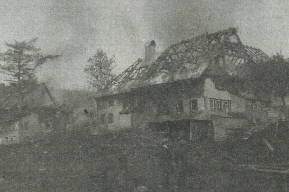 Brand des Seilerhansenhof 1911