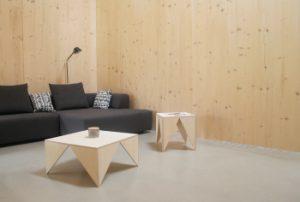 Wohnzimmer Ferienhaus mit Sitzecke