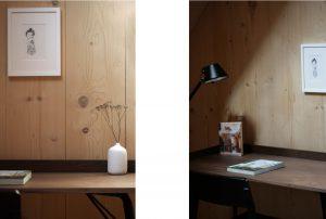 Arbeitsplatz, Leseecke, Galerie